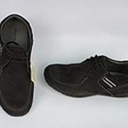 Туфли из нубука фото