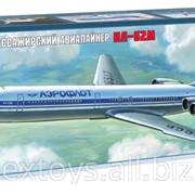 Звезда 7013, Советский пассажирский авиалайнер Ил-62М (масштаб 1144) фото