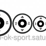 Диск весовой олимпиий Adidas Olympic Plate фото