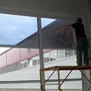 Тонировка окон и витражей фото