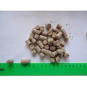 Белковая кормовая смесь на основе пшеничных отрубей фото