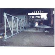 Металлическая конструкция фермы для навеса фото