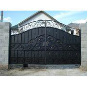 Кованые ворота 10 фото