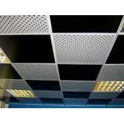 Декоративные панели подвесных потолков фото