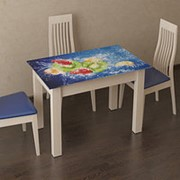 Стол обеденный Ланч Фрукты с фотопечатью фото
