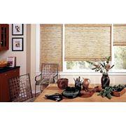 Бамбуковые жалюзи римские фото
