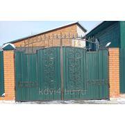 Ворота кованые №13 фото