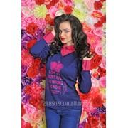 Модная кофта женская 2750 ар фото