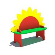 Детская скамейкаСолнышко фото