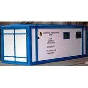Блок-контейнер компрессорный БКК для сжатого воздуха азота фото