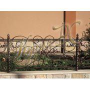 Кованый забор ажурный фото