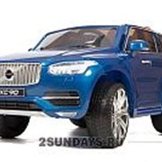 Детский электромобиль VOLVO XC90 синий глянец фото