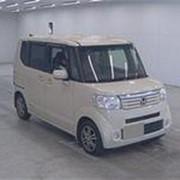 Микровэн турбо HONDA N BOX кузов JF1 класса минивэн модификация G Turbo Package г 2013 пробег 82 т.км кремовый фото