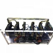Майнинг ферма GPU на видеокартах ITP Nvidia 6x1070 8Gb фото