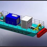 Спецтехника- земснаряды, производительностью от 40 м³/час до 1600 м³/час по пульпе, с глубиной разработки от 0,5 до 22 м от поверхности воды, технические характеристики которых не имеют аналогов. фото