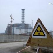 Сбор и сортировка радиоактивных отходов. фото