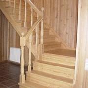 Изготовление лестниц и перил. фото