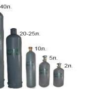 Аргон газообразный ВЧ 40л. ТУ 6-21-12-94 фото
