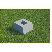 блоки фундаментные для оград фото