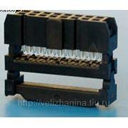 Коннектор для шлейфа 16Р фото