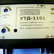 Усилитель (28дБ, 117 дБмкв): Дельта УТД-1101, телевизионный, домовой, 70 абонентов фото