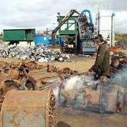 Переработка отходов черных металлов, приобретение лома черных металлов фото