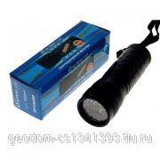 Ultraflash фонарь ручной UF14LED (97 мм, черный, 14 LED, ремешок д/переноски) фото