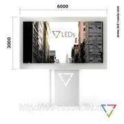 Готовый светодиодный экран билборд 3*6 фото