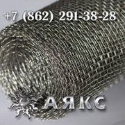 Сетка 2-14-2 НУ ГОСТ 3826-82 ячейка 14х14 низкоуглеродистая тканая для просеивания рассева фото