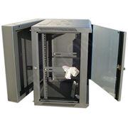 Коммутационный шкаф 12U DW6412 600*550*12U черный откидывающийся от стены фото