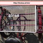 Велосипед трехколесный. Корзина на КОМФОРТ 182/90/65 фото