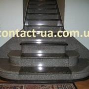Лестницы, ступени из гранита фото
