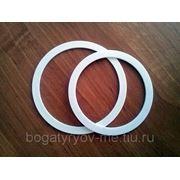 Термокольцо протекторное белое d 65 мм фото