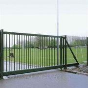 Ворота откатные фото