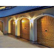Автоматические ворота для гаража 3000*2500 мм фото