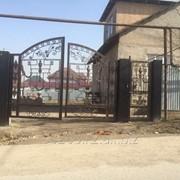 Ворота иранская ковка фото