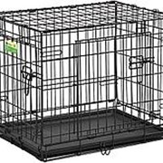 Клетка для животных цвет черный 2 двери 108*70,5*77,5 см GY17005 фото