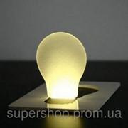 Карманный светильник складывается в форму визитки 109-108708 фото
