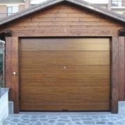 Автоматические ворота для гаража фото