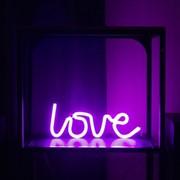 СТАРТ LED neon ночник love (3xR6 не в компл.) 340x140x22 фото
