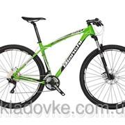 Велосипед горный Bianchi JAB 29.3 AL XT/Deore 3x10 Disc зеленый Y3B95U53JL фото