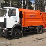 Мусоровоз КО-456-10 на шасси МАЗ (Коммаш, Мценск) фото