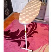 Дешевая гладильная доска из фанеры т-образная ножка 35см ширина фото
