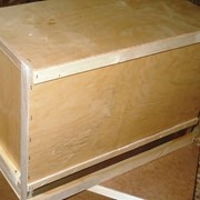 Ящик для пчелопакетов на 6 рамок (фанера) фото
