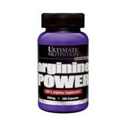 Аминокислоты, Arginine Power 800 mg, 100 капсул фото