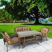 Комплект плетеной мебели T130Bg/LV520BB-Beige/Beige фото