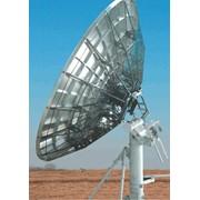 Антенная система, диаметр - 7,3 м (7,3m Antenna) - профессиональная приемо-передающая антенная система для работы с геостационарными спутниками, и системами наведения разной конфигурации. фото