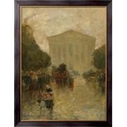 Картина Сумерки после дождя, 1895, Хассам, Фредерик Чайлд фото