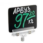 BB A7 Черная табличка для нанесения надписей фото