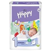 Подгузники для детей bella baby happy, размер newborn, 2-5 кг №42 фото